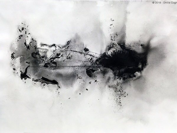 ink & water on paper - 21 x 29,7 cm - 2019 - private collection, Germany