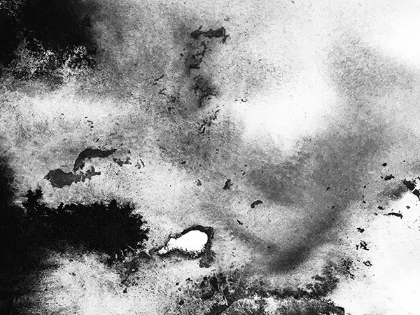 ink & water on paper - 12 x 17 cm - 2020