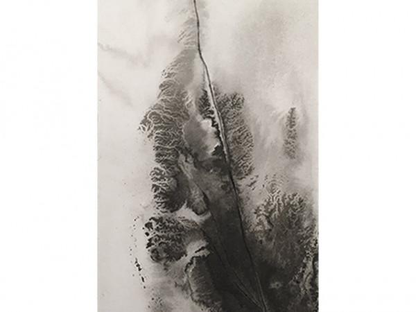 ink & water on museum cardboard - 8,5 x 22 cm - 2021