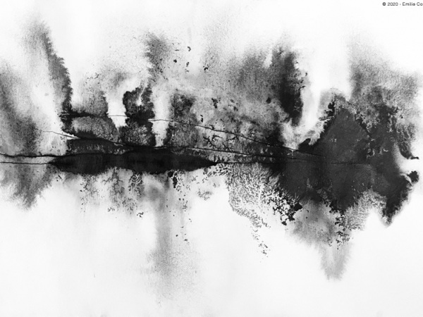 ink & water on paper -21 x 29,7 cm - 2020